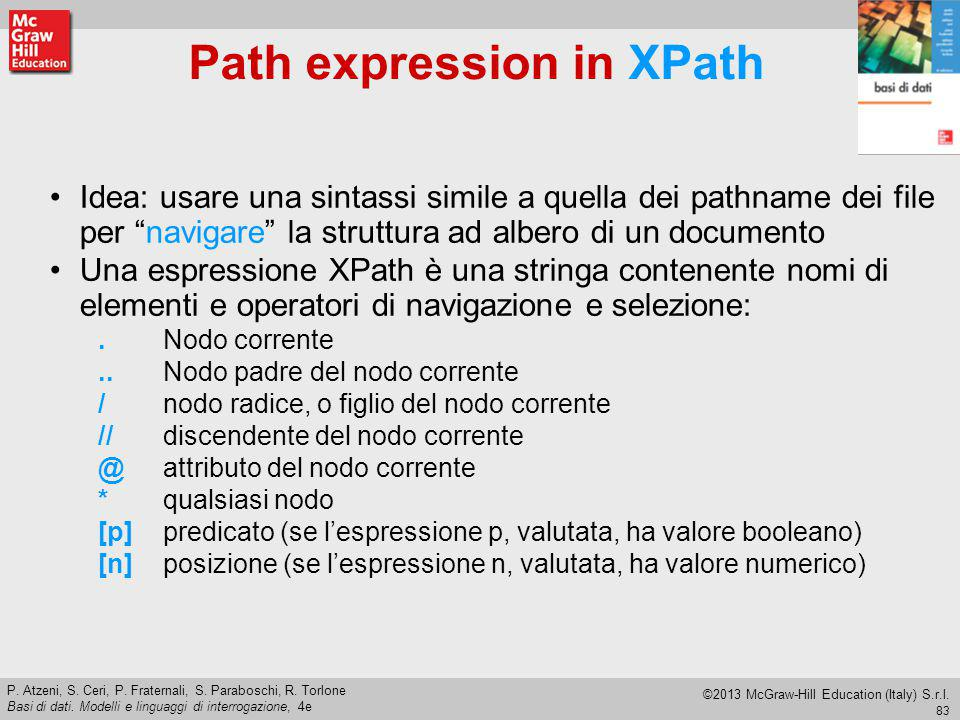 Path expression in XPath