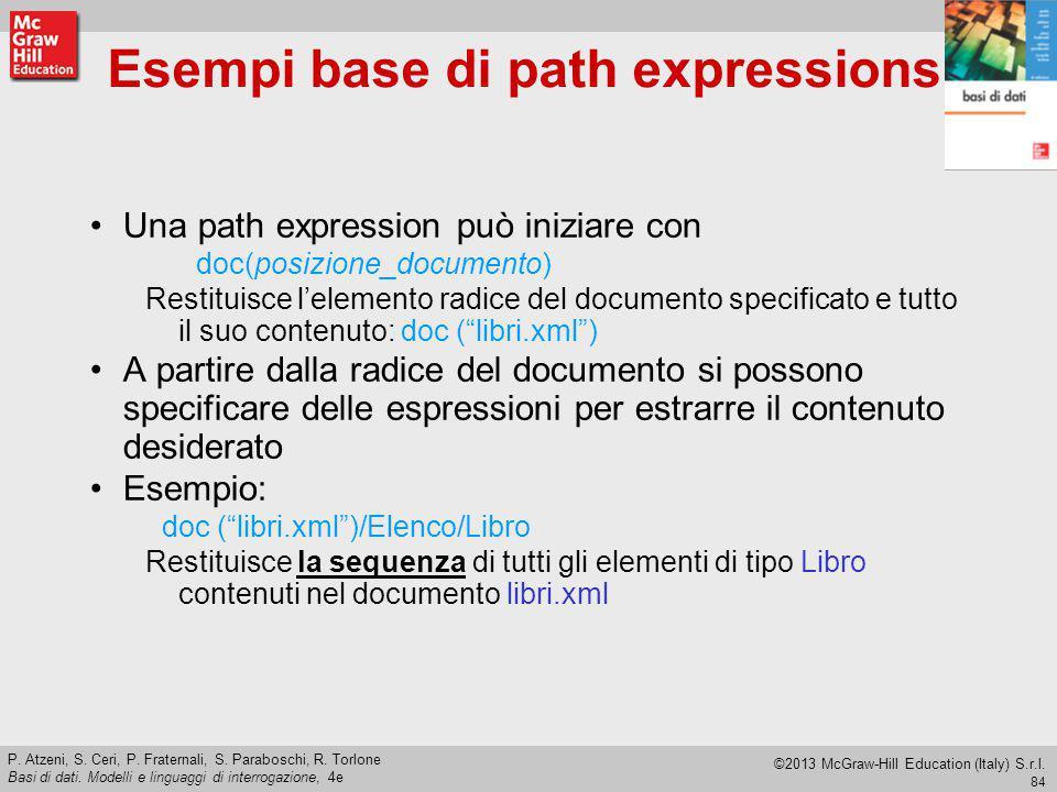 Esempi base di path expressions