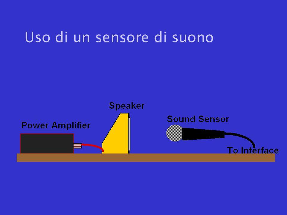 Uso di un sensore di suono