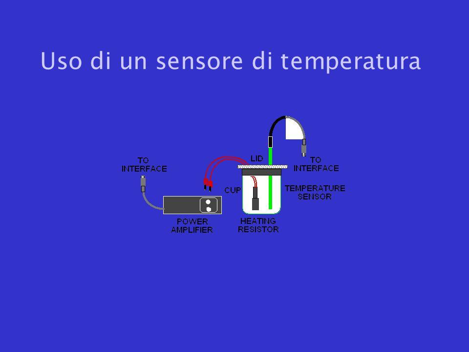 Uso di un sensore di temperatura