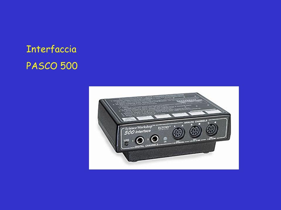 Interfaccia PASCO 500