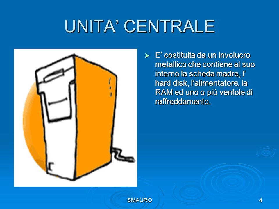 UNITA' CENTRALE