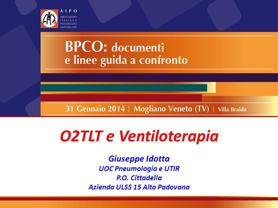O2TLT e Ventiloterapia