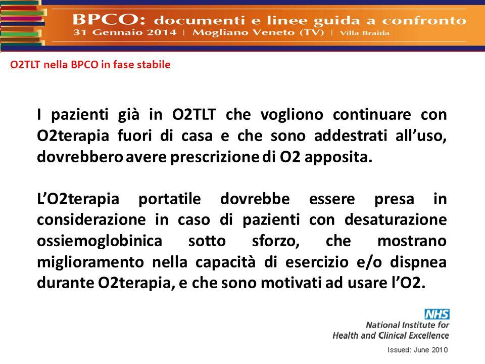 O2TLT nella BPCO in fase stabile