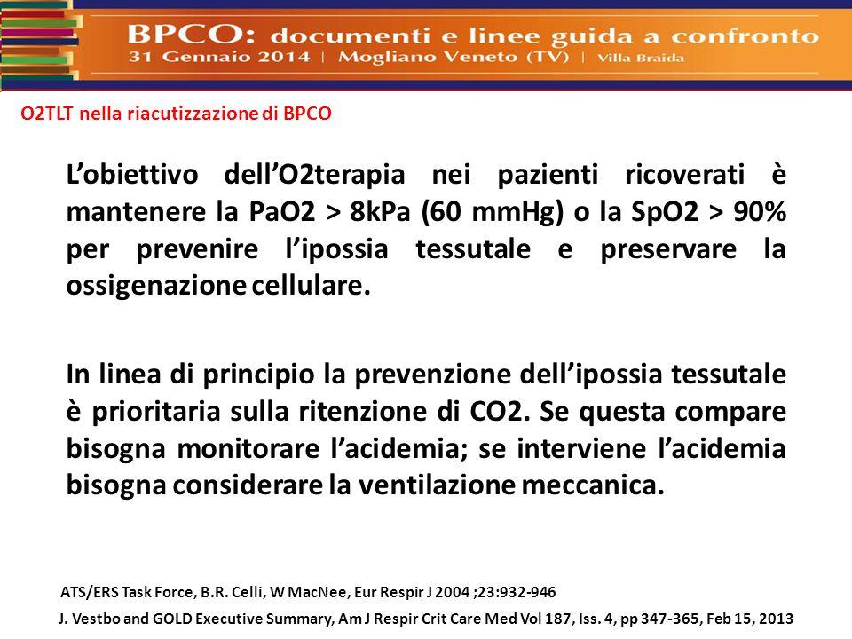 O2TLT nella riacutizzazione di BPCO