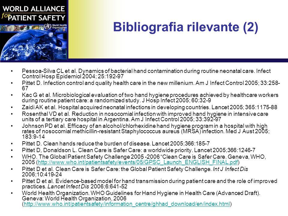 Bibliografia rilevante (2)