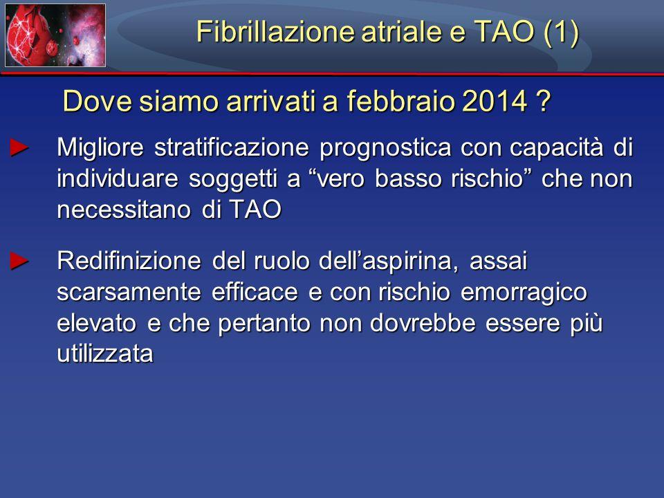 Fibrillazione atriale e TAO (1)