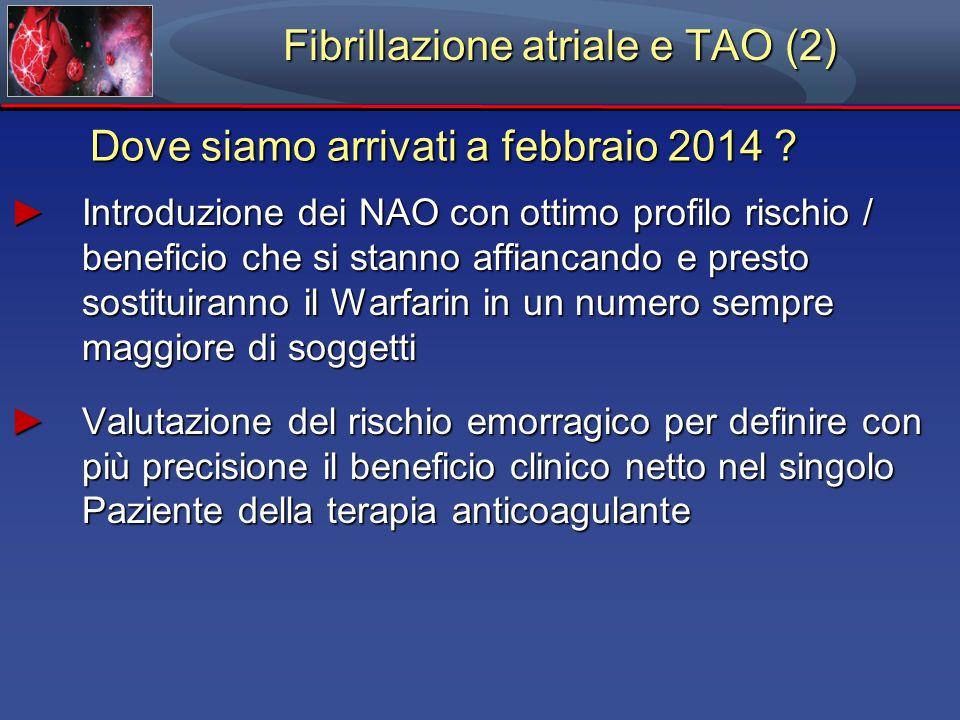 Fibrillazione atriale e TAO (2)