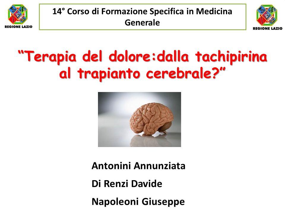 Terapia del dolore:dalla tachipirina al trapianto cerebrale