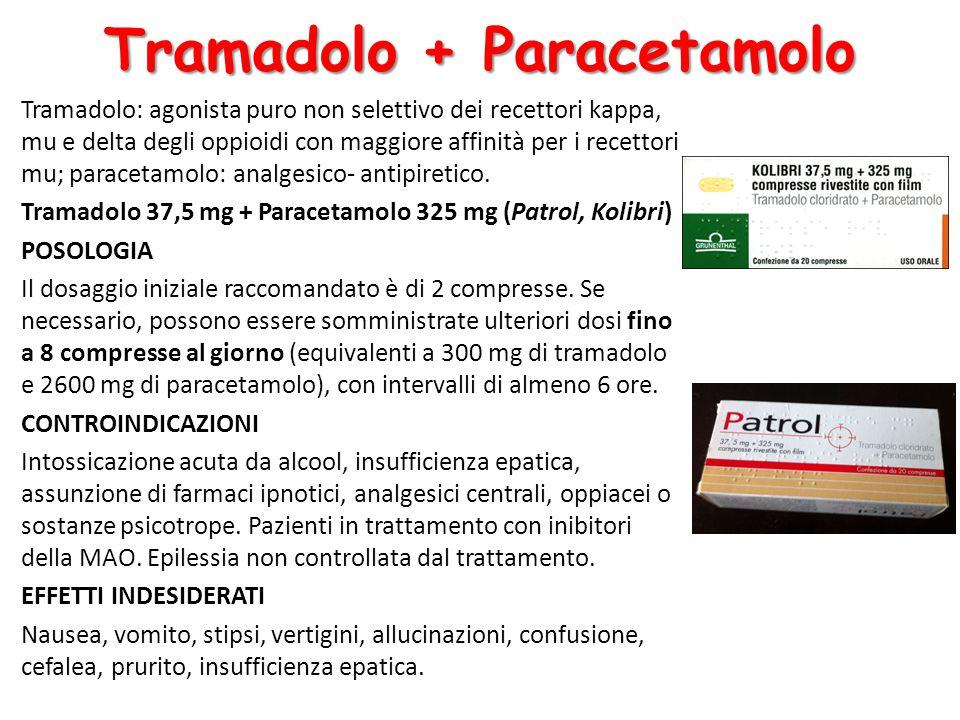 Tramadolo + Paracetamolo