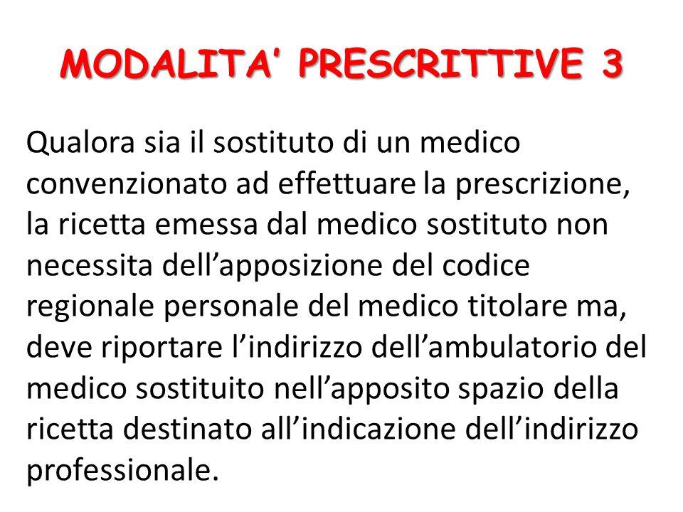 MODALITA' PRESCRITTIVE 3