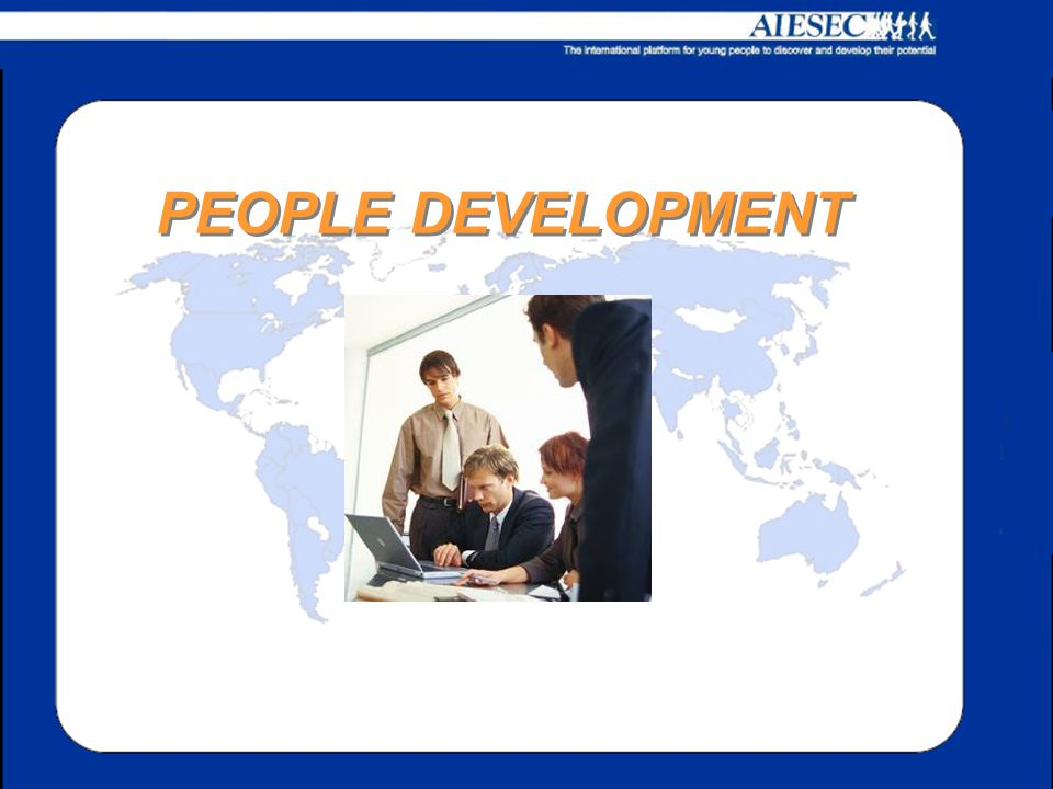PEOPLE DEVELOPMENT