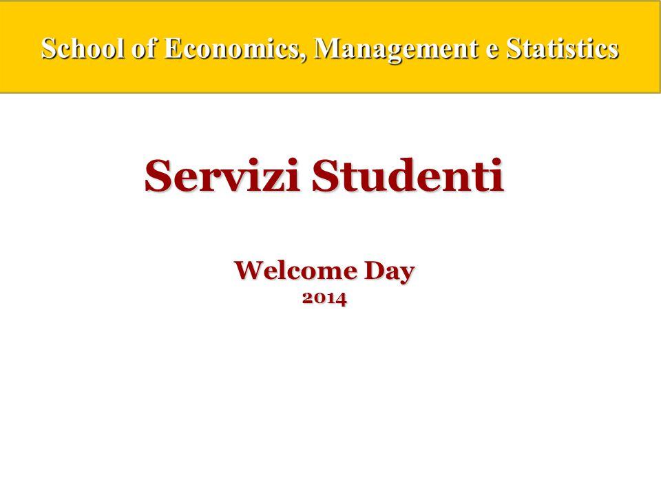 Servizi Studenti Welcome Day 2014