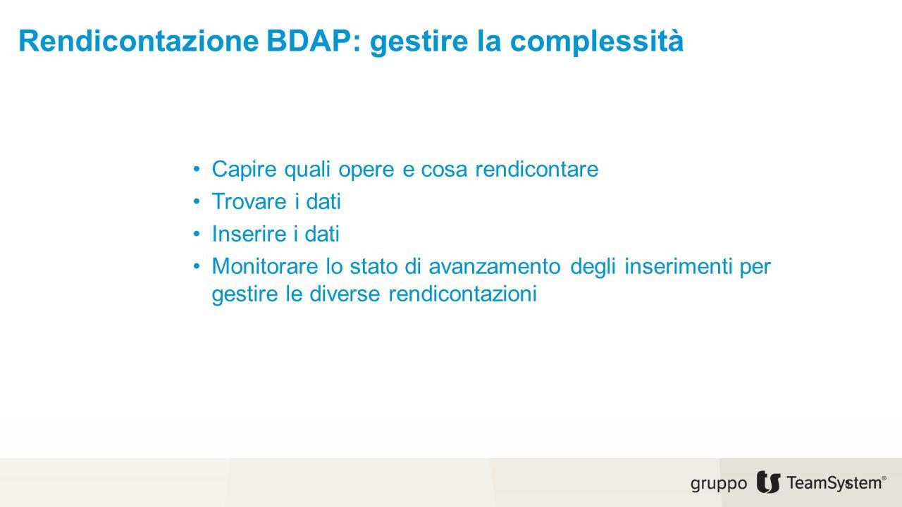 Rendicontazione BDAP: gestire la complessità