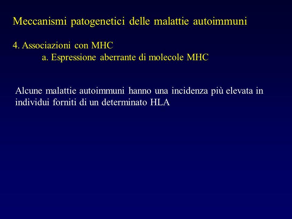 Meccanismi patogenetici delle malattie autoimmuni