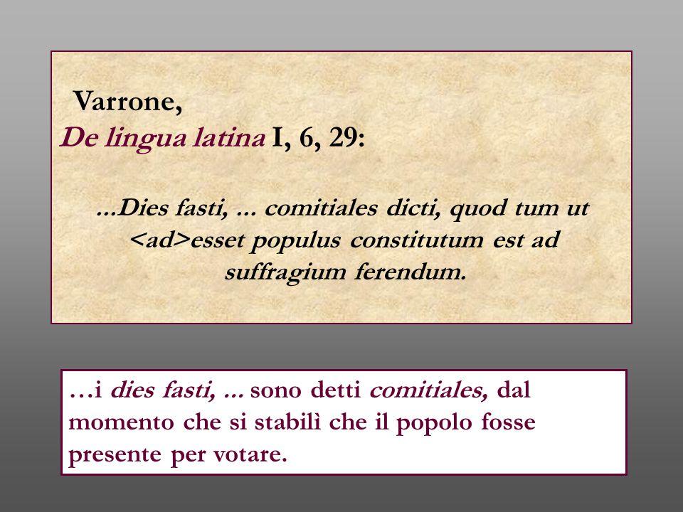 Varrone, De lingua latina I, 6, 29: