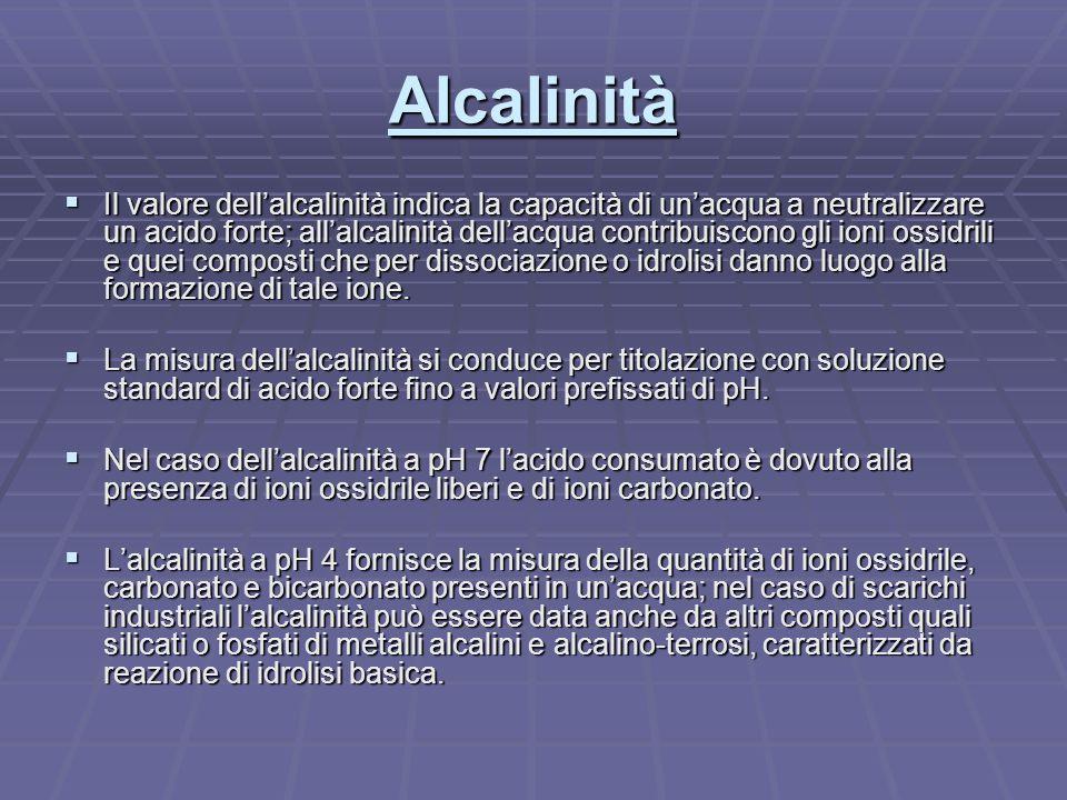 Alcalinità