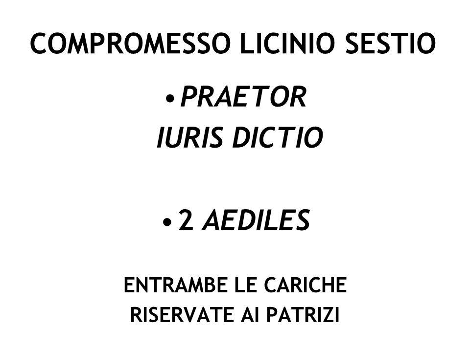 COMPROMESSO LICINIO SESTIO