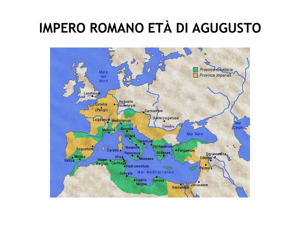 IMPERO ROMANO ETÀ DI AGUGUSTO
