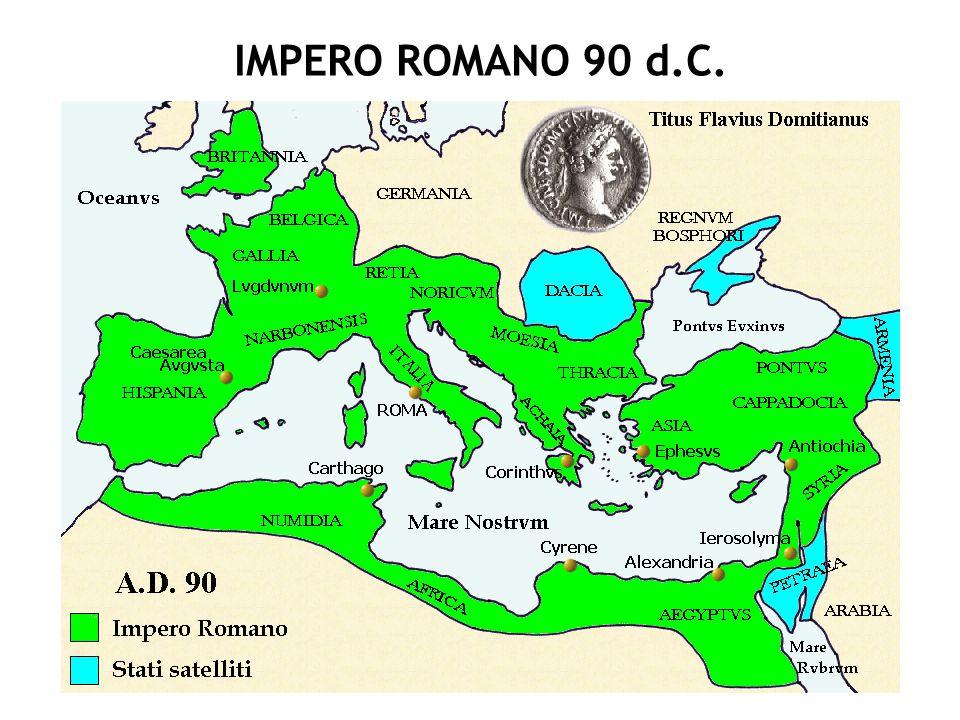 IMPERO ROMANO 90 d.C.