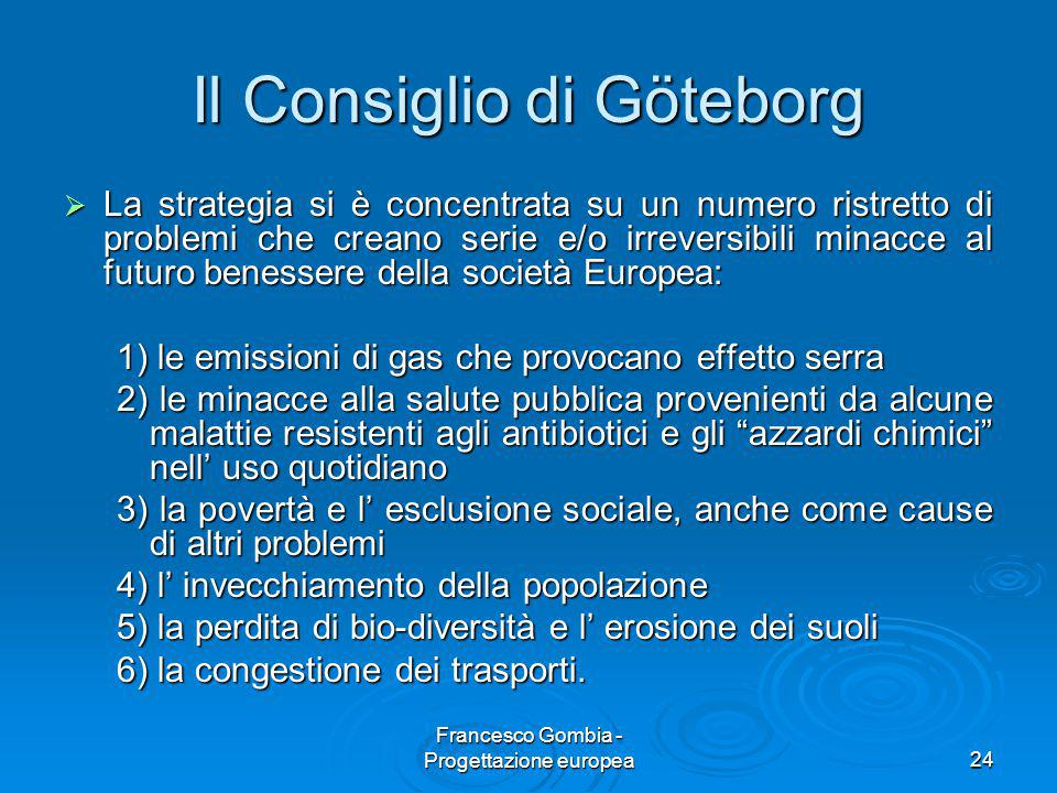 Il Consiglio di Göteborg