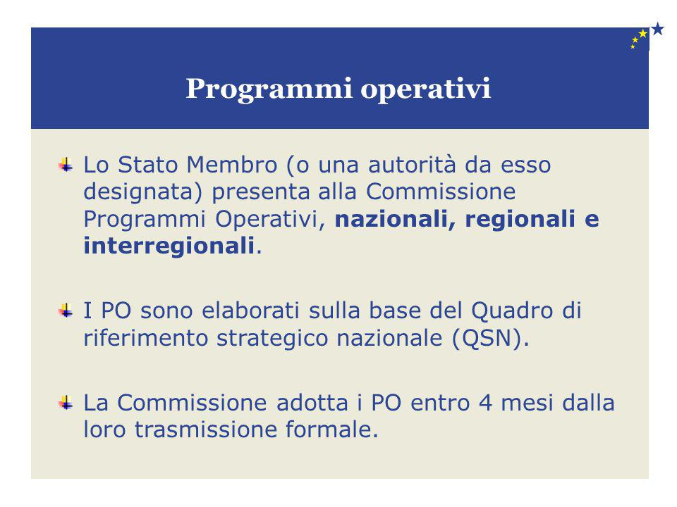 Programmi operativi