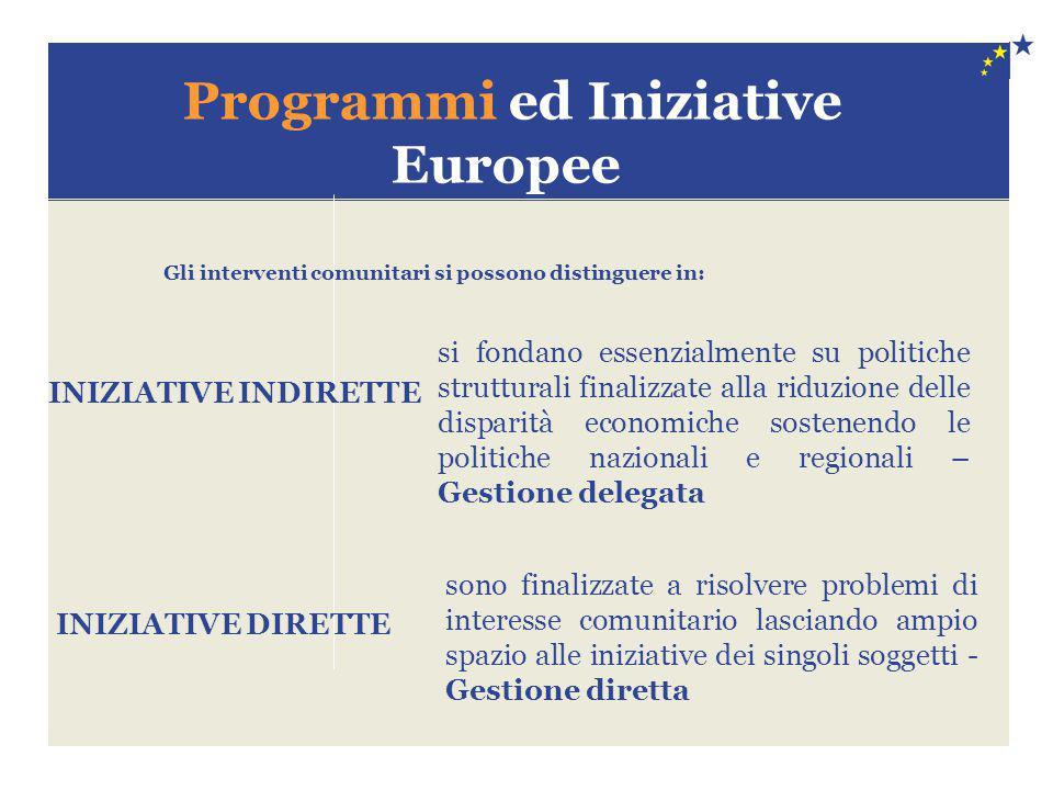 Programmi ed Iniziative Europee