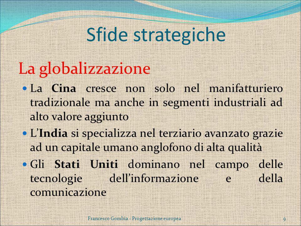 Sfide strategiche La globalizzazione