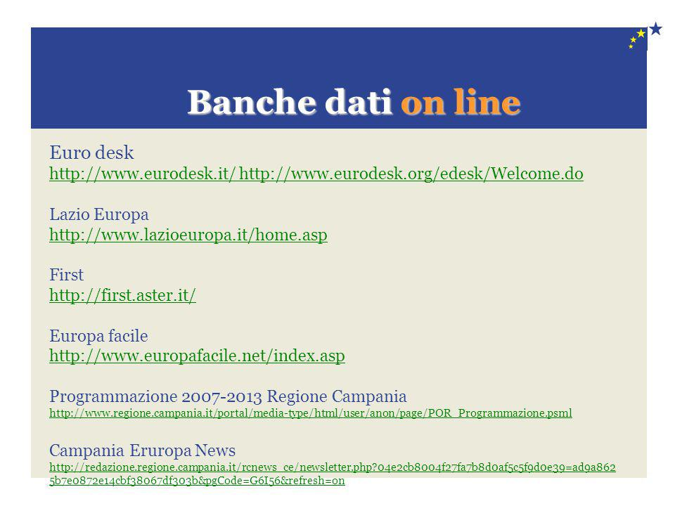 Banche dati on line Euro desk