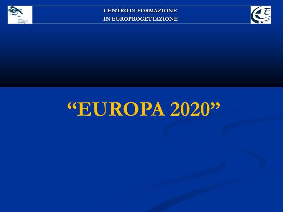 CENTRO DI FORMAZIONE IN EUROPROGETTAZIONE EUROPA 2020