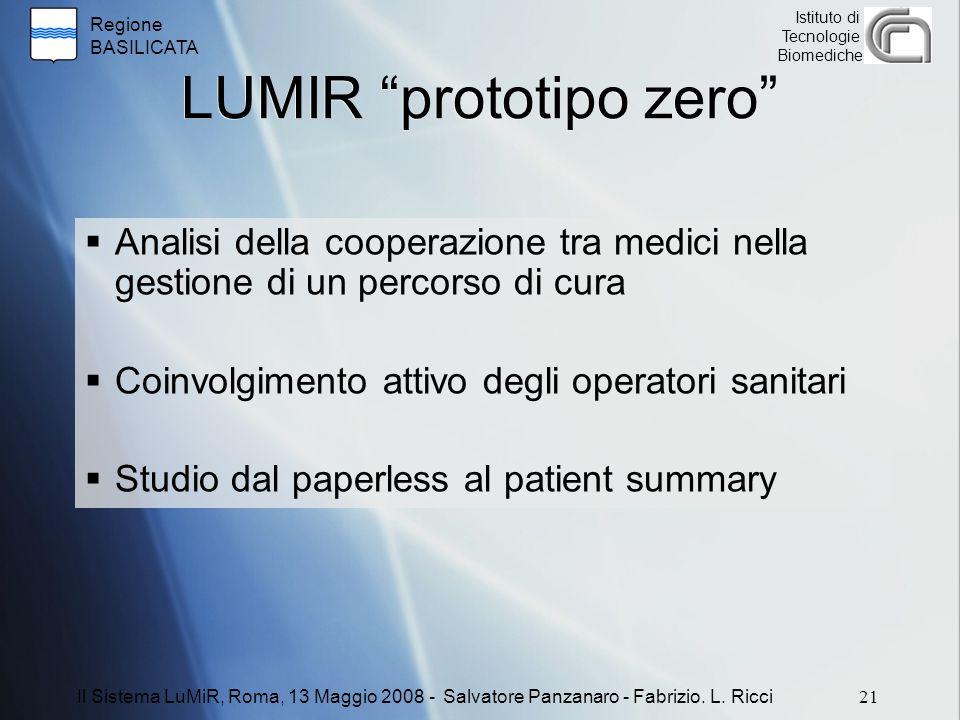 LUMIR prototipo zero