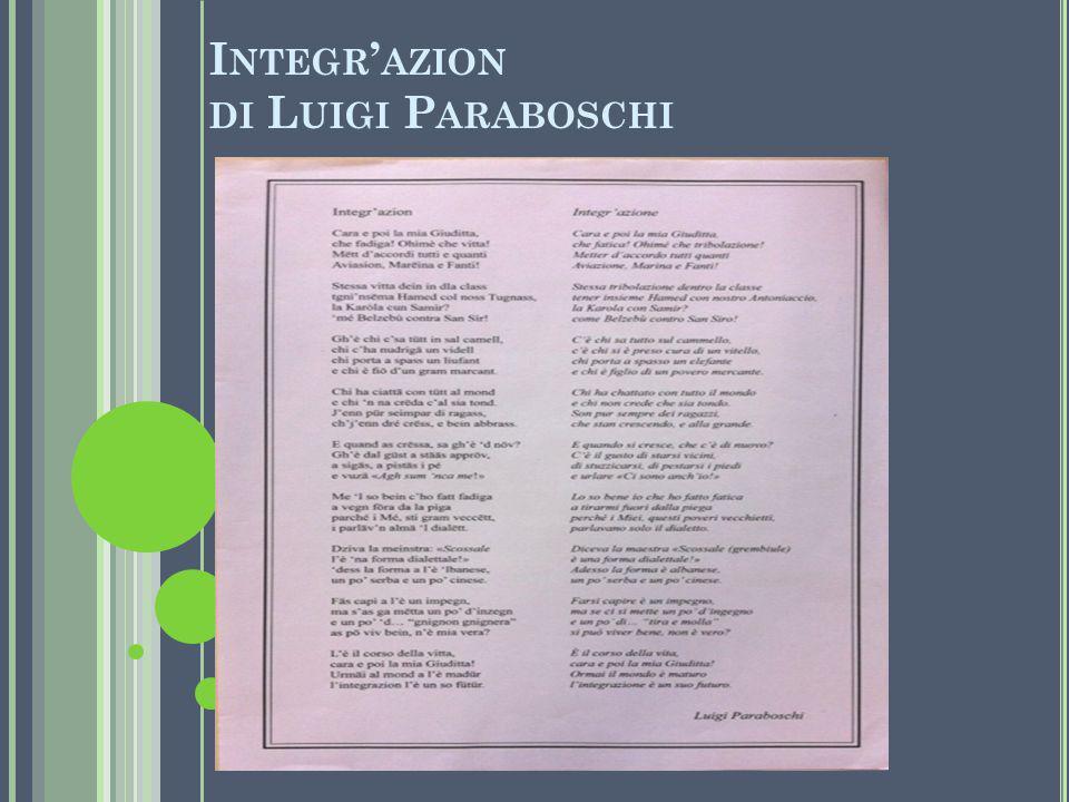 Integr'azion di Luigi Paraboschi