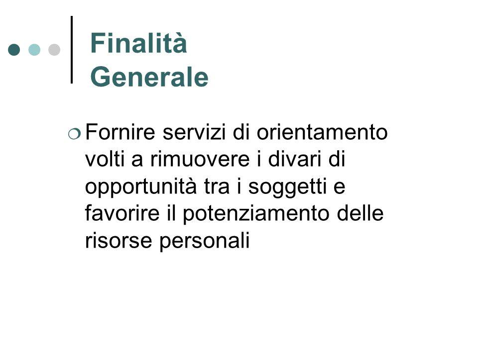 Finalità Generale