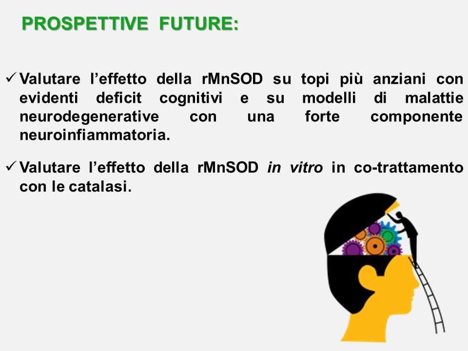 PROSPETTIVE FUTURE: