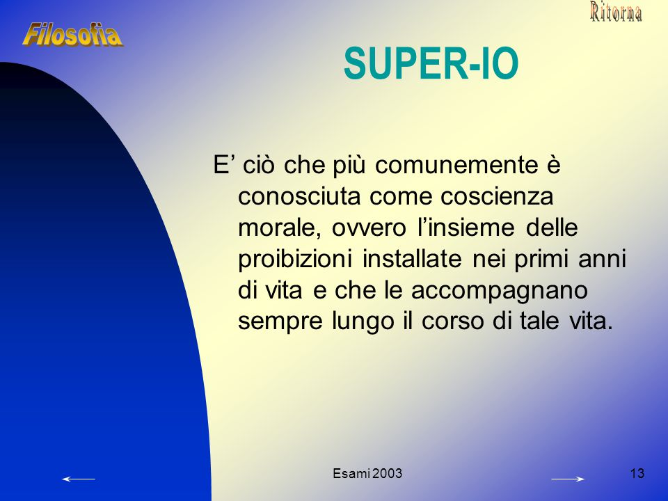 Ritorna SUPER-IO. Filosofia.