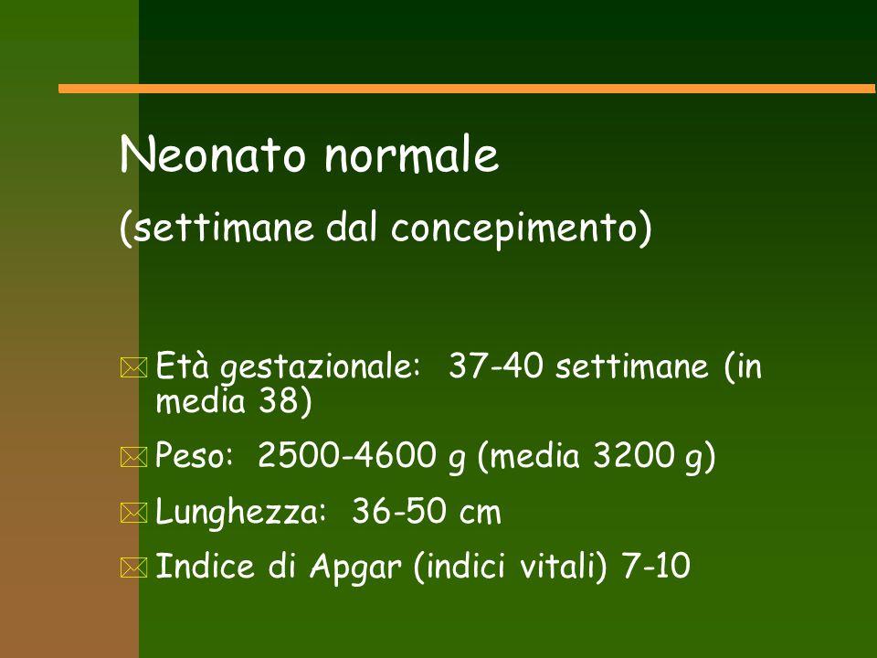 Neonato normale (settimane dal concepimento)