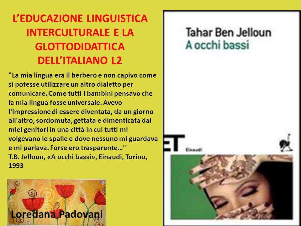 L'EDUCAZIONE LINGUISTICA INTERCULTURALE E LA GLOTTODIDATTICA DELL'ITALIANO L2