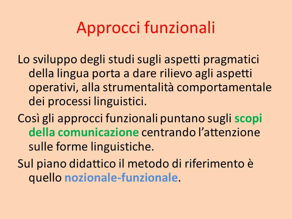 Approcci funzionali