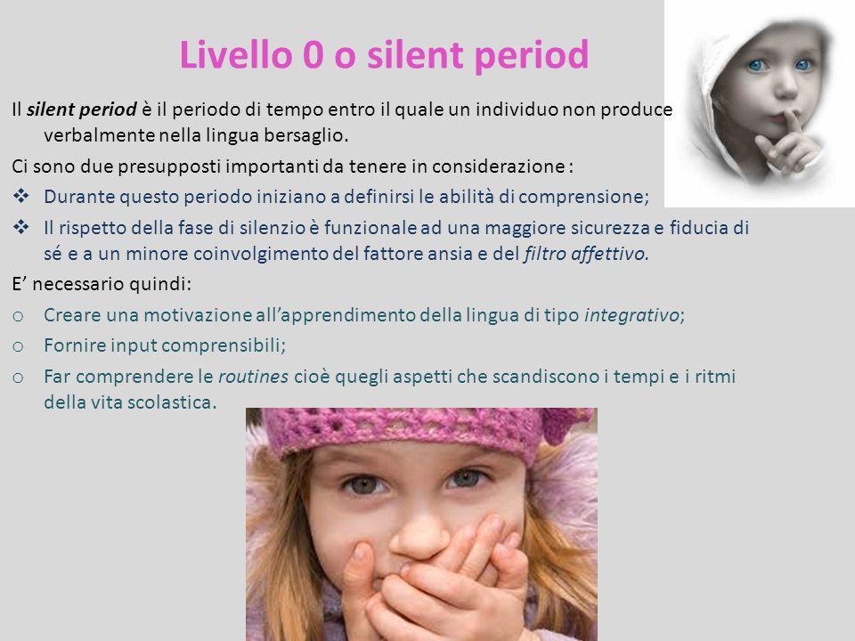 Livello 0 o silent period