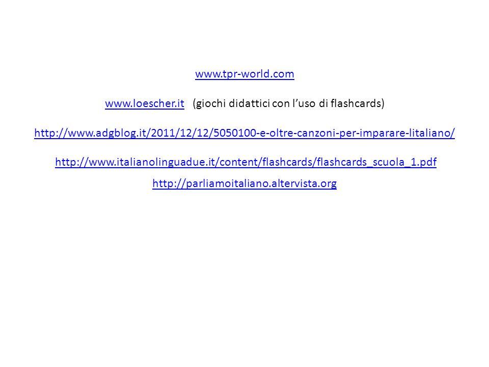 www. tpr-world. com www. loescher