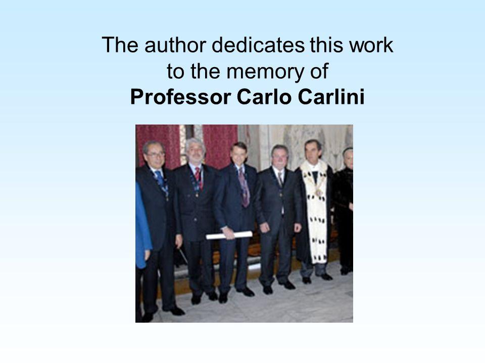 Professor Carlo Carlini