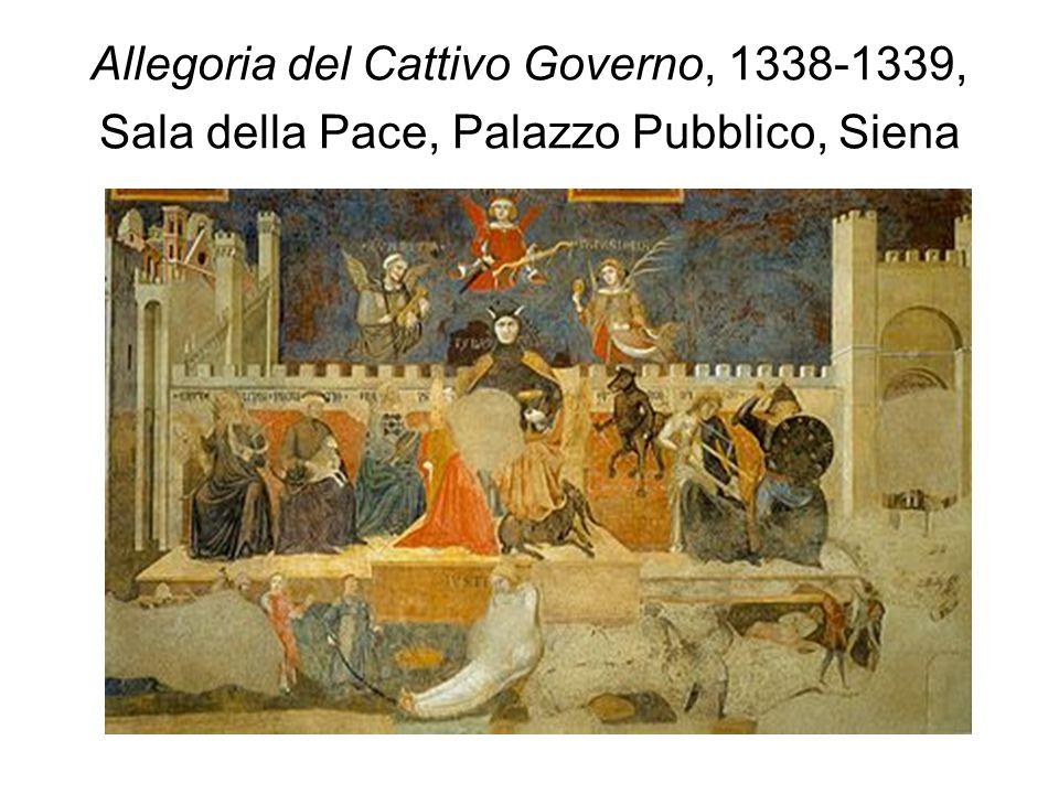 Allegoria del Cattivo Governo, 1338-1339, Sala della Pace, Palazzo Pubblico, Siena
