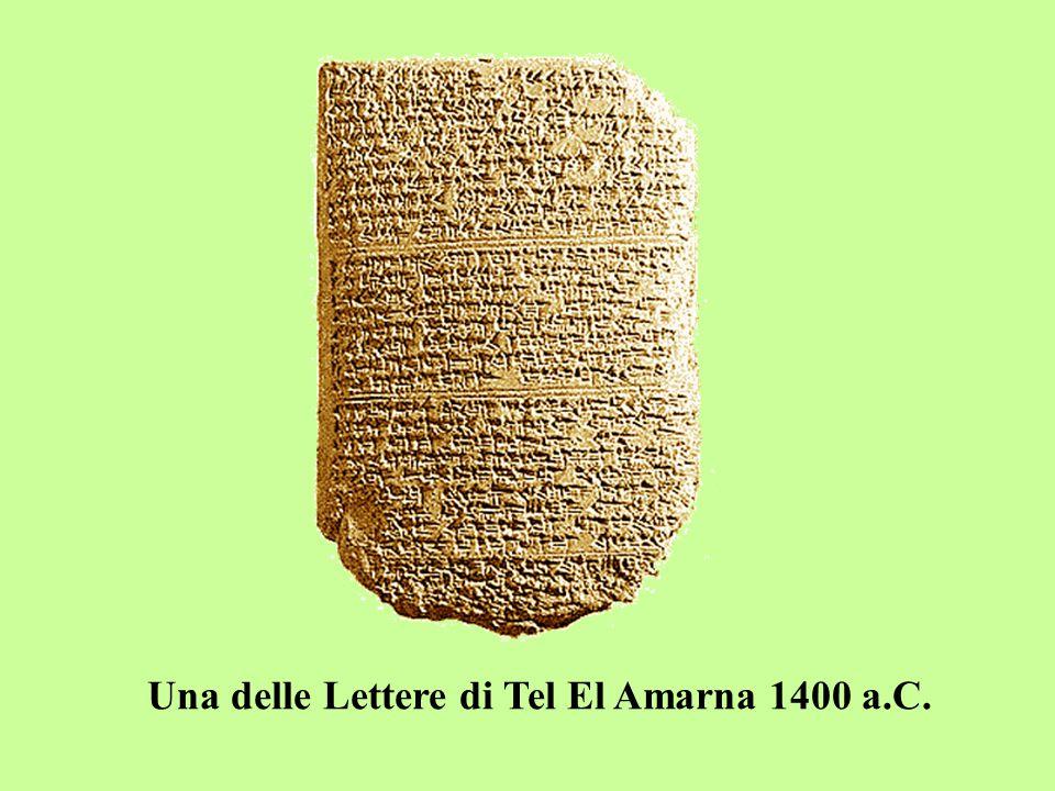 Una delle Lettere di Tel El Amarna 1400 a.C.