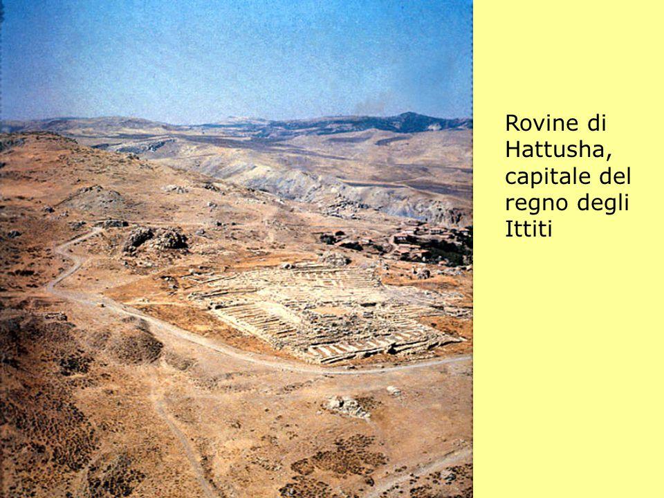 Rovine di Hattusha, capitale del regno degli Ittiti
