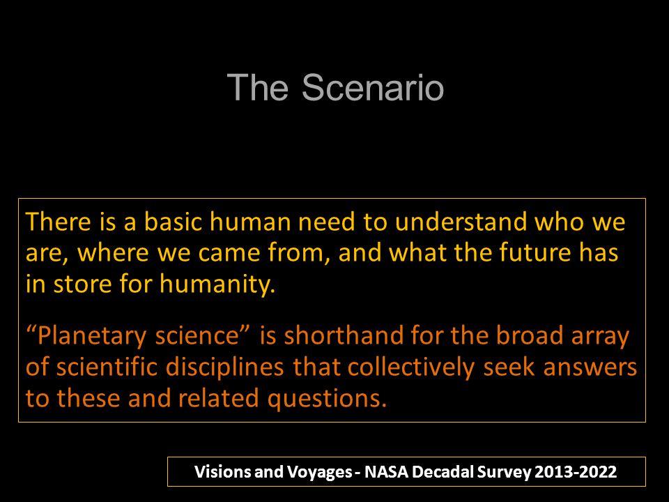 Visions and Voyages - NASA Decadal Survey 2013-2022