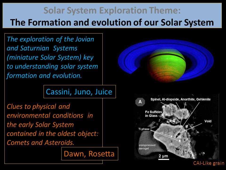 Solar System Exploration Theme: