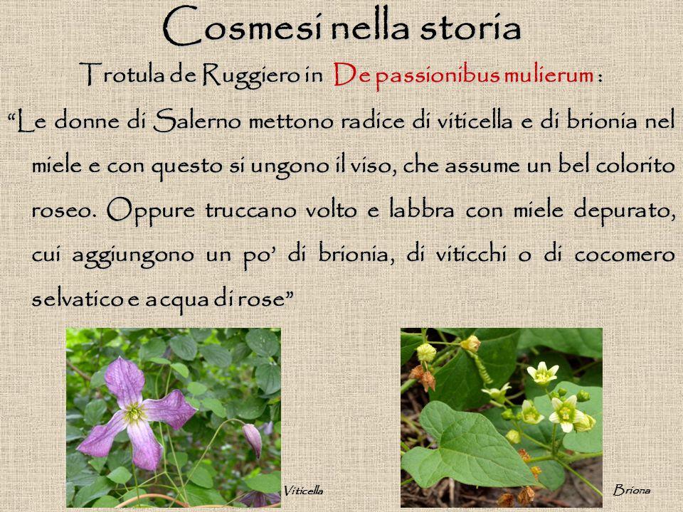 Trotula de Ruggiero in De passionibus mulierum :