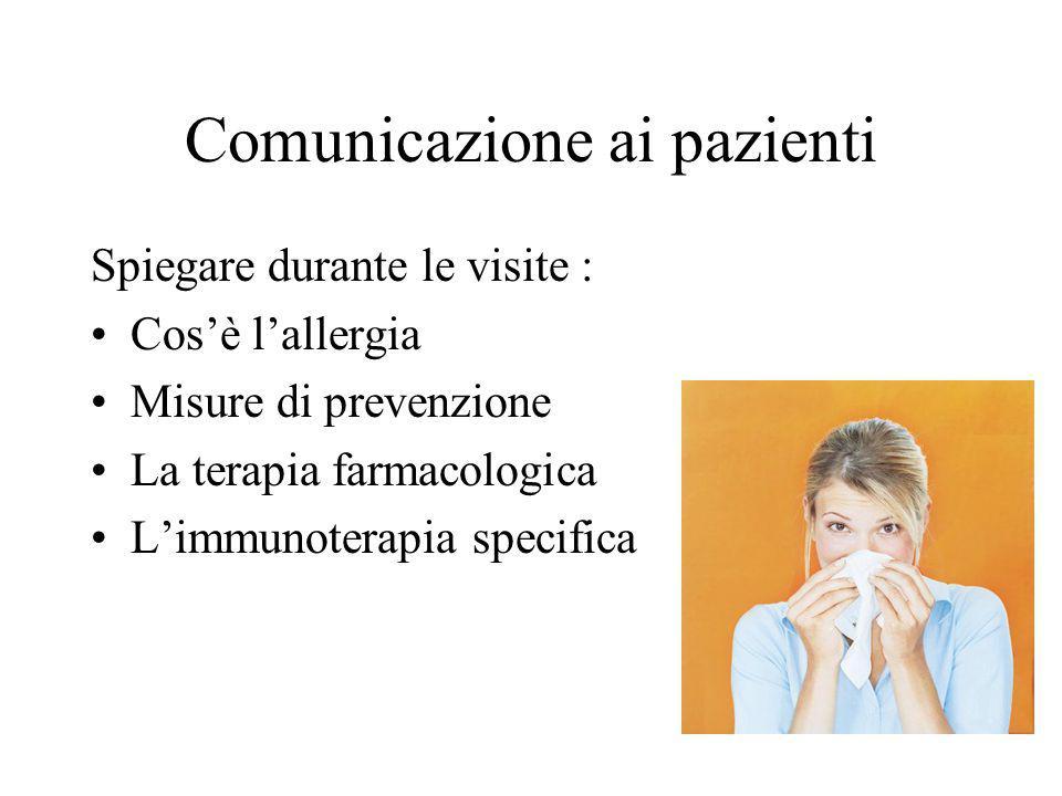 Comunicazione ai pazienti