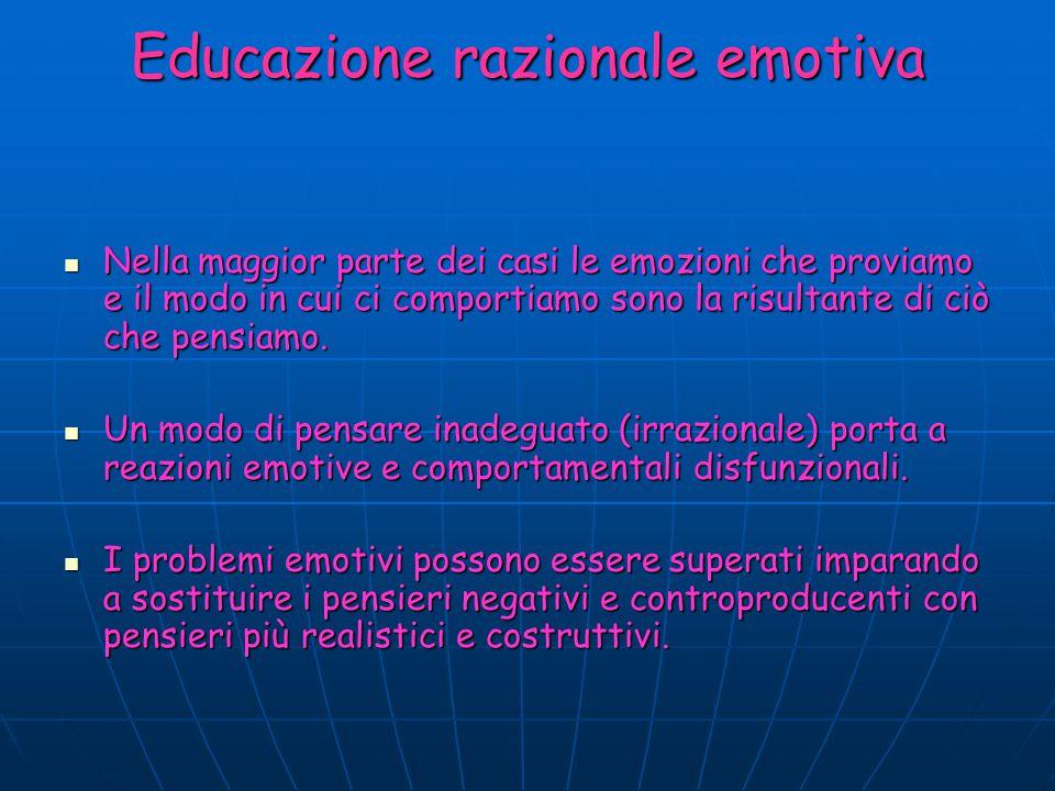 Educazione razionale emotiva