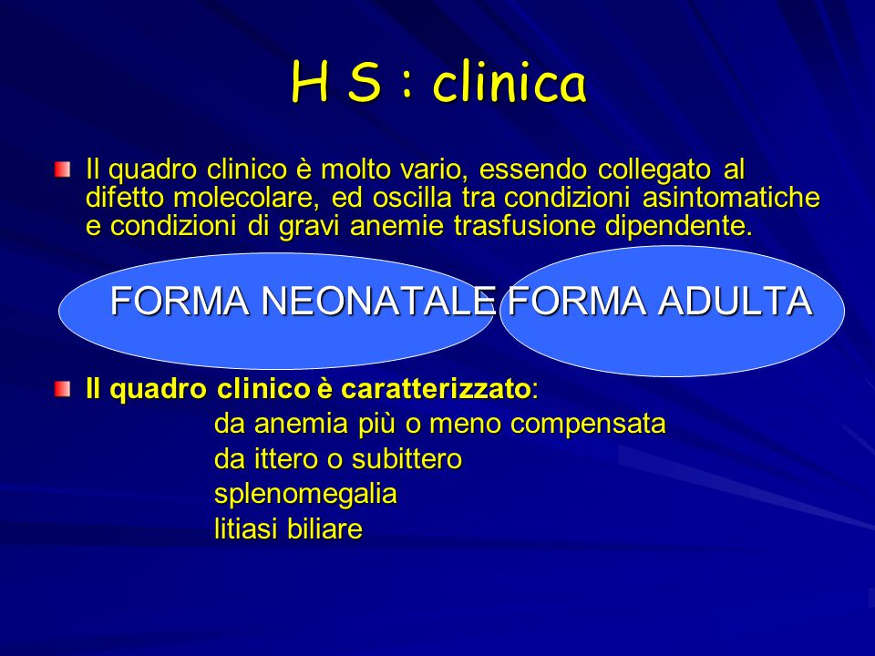 H S : clinica